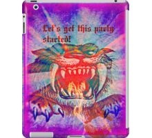 let's get this party started! iPad Case/Skin