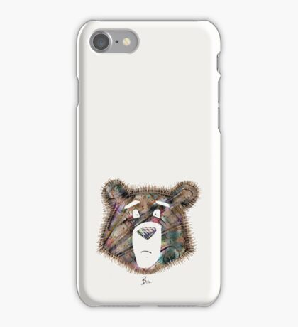 Too Much To Bear. iPhone Case/Skin
