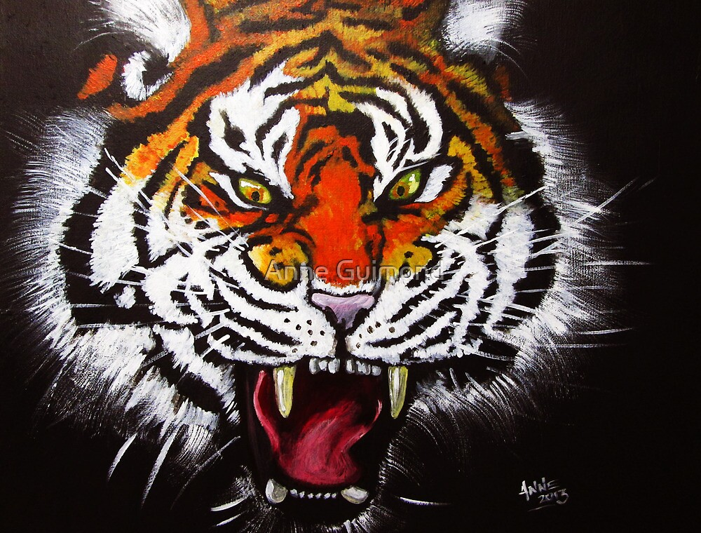 Tiger's Temper by Anne Guimond