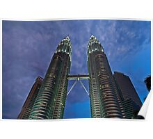 Petronas Twin Towers Poster