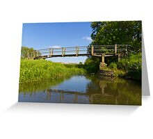 The Ambling River Greeting Card