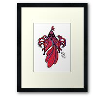 Star Bird Framed Print