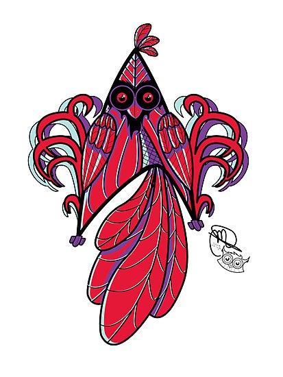 Star Bird by MareveDesign