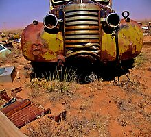 GMC tow truck, Fort Sumner, NM by Ralf372