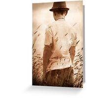 Memory Chases iii Greeting Card