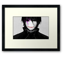 Darker than Black Framed Print