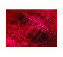 Composite ruby Art Print