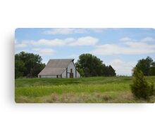 Rural Country Barn Canvas Print