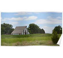 Rural Country Barn Poster