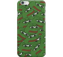 Sad Pepe Pattern iPhone Case/Skin