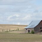 Barn On The Prairie by RenieRutten