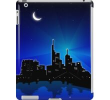 blue City Skyline iPad Case/Skin