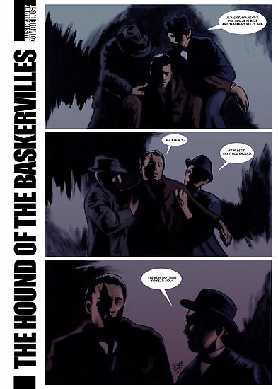 The Hound of The Baskervilles by Zombie Rust