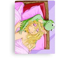 Kermit&Piggy Canvas Print