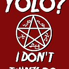 YOLO doesn't apply to Winchesters by nimbusnought