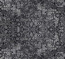 Intricate hand-drawn pattern by highlyhiley
