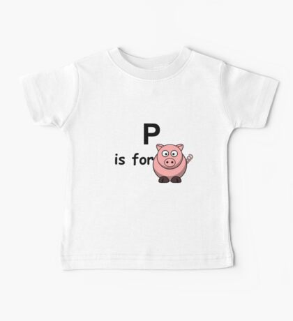 P is for ...V3 Baby Tee