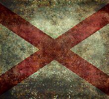 Alabama state flag by Bruiserstang