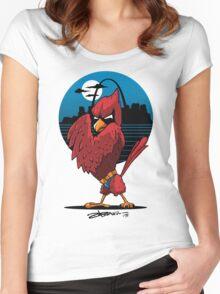 Fredbird the Dark Knight Women's Fitted Scoop T-Shirt