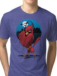 Fredbird the Dark Knight Tri-blend T-Shirt