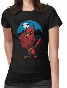 Fredbird the Dark Knight Womens Fitted T-Shirt