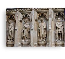 Stonework of old England Canvas Print