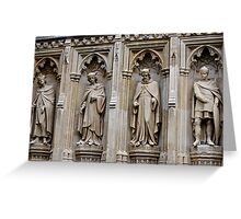 Stonework of old England Greeting Card