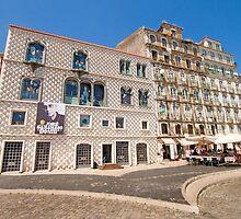 casa dos bicos . Lisboa by terezadelpilar~ art & architecture