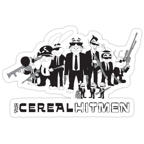 The Cereal Hitmen by rollbiwan