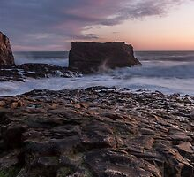 Dusk at Davenport - California Coast by Richard Thelen