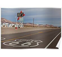 Roy's Amboy on Route 66 Poster