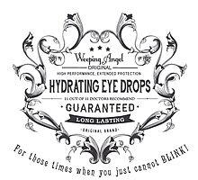 Weeping Angel Eye Drops by calvingreg09