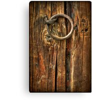 Knock on Wood Canvas Print