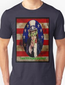 Uncle Sam Needs you to play Ameritrash Unisex T-Shirt