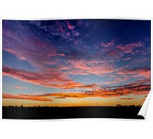 Coober Pedy Sunrise Poster