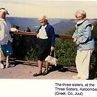 Three sisters at the Three Sisters, Katoomba by MrJoop