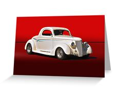 1936 Ford Coupe V Greeting Card