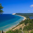 Sleeping Bear Dunes from Empire Bluff by DArthurBrown