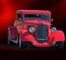 Operating in the Red  - 1934 Plymouth Coupe by DaveKoontz