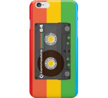 Commodore 64 Cassette Tape iPhone Case/Skin