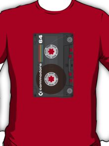 Commodore 64 Cassette Tape T-Shirt