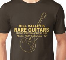 Hill Valley Rare Guitars - Rockin' Since '85 Gibby Unisex T-Shirt