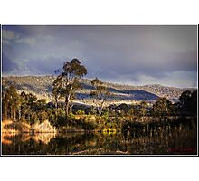 Tidbinbilla on a late afternoon Photographic Print
