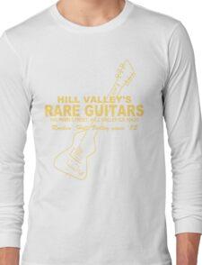 Hill Valley Rare Guitars - Rockin' Since '85 Chick Long Sleeve T-Shirt