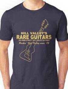 Hill Valley Rare Guitars - Rockin' Since '85 Chick Unisex T-Shirt