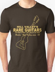 Hill Valley Rare Guitars - Rockin' Since '85 Chick Unisex T-Shirt