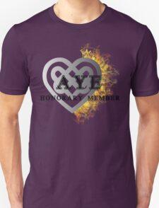 Fiery heart AYE shirt T-Shirt