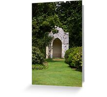 """Summer Alcove"" Greeting Card"