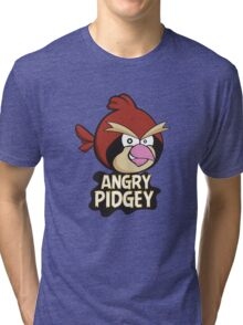Angry Pidgey Tri-blend T-Shirt
