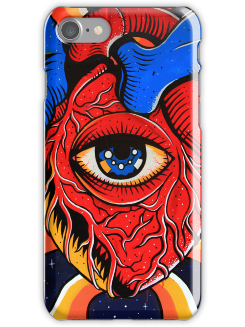 iPhone Case - the eye again by fenjay